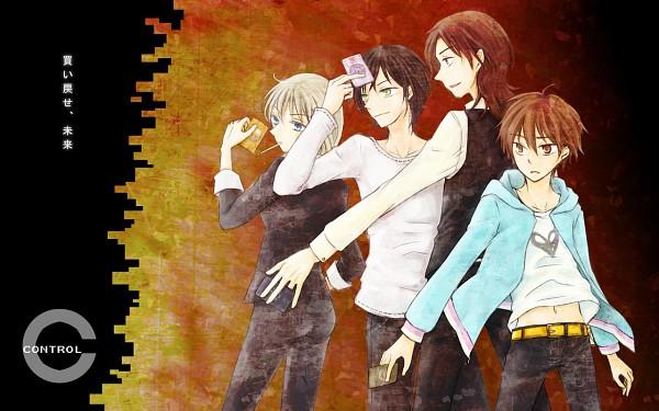 Tags: Anime, Oh-mame, [C], Souichirou Mikuni, Yoga Kimimaro, Kou Sennoza, Jennifer Satou, Pixiv, Wallpaper