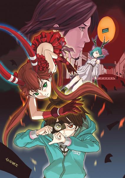 Tags: Anime, Pixiv Id 646411, [C], Q, Mashu, Yoga Kimimaro, Souichirou Mikuni, Pixiv, Fanart