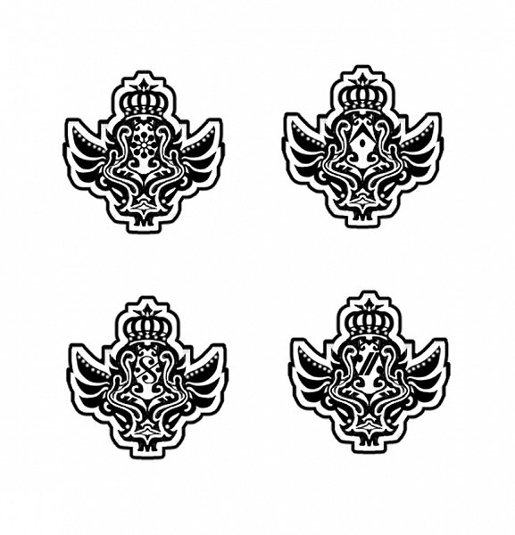Tags: Anime, Tanemura Arina, IDOLiSH7, Emblem, Official Art, Twitter, ŹOOĻ