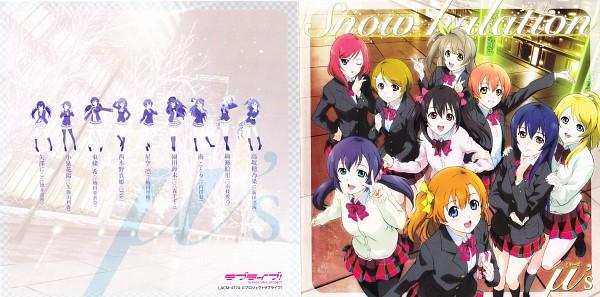 Tags: Anime, Love Live!, Minami Kotori, Ayase Eri, Nishikino Maki, Hoshizora Rin, Koizumi Hanayo, Toujou Nozomi, Yazawa Niko, Sonoda Umi, Kousaka Honoka, CD (Source), Official Art