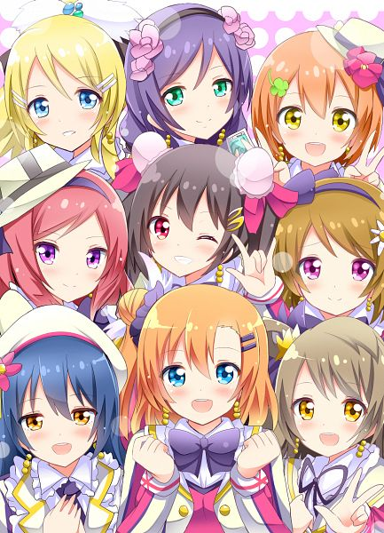 Tags: Anime, Shinekalta, Love Live!, Hoshizora Rin, Koizumi Hanayo, Toujou Nozomi, Yazawa Niko, Sonoda Umi, Kousaka Honoka, Minami Kotori, Ayase Eri, Nishikino Maki, Sore wa Bokutachi no Kiseki