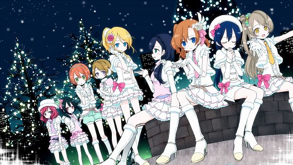 Tags: Anime, Niboshi, Love Live!, Nishikino Maki, Toujou Nozomi, Koizumi Hanayo, Sonoda Umi, Yazawa Niko, Minami Kotori, Kousaka Honoka, Ayase Eri, Hoshizora Rin, HD Wallpaper