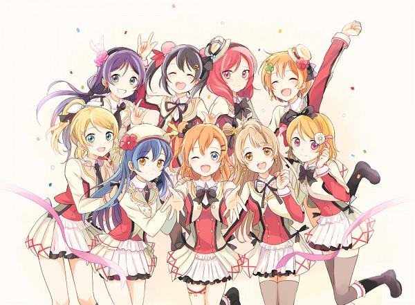 Tags: Anime, May (Pixiv Id 233774), Love Live!, Sonoda Umi, Kousaka Honoka, Minami Kotori, Ayase Eri, Nishikino Maki, Hoshizora Rin, Koizumi Hanayo, Toujou Nozomi, Yazawa Niko, Fanart