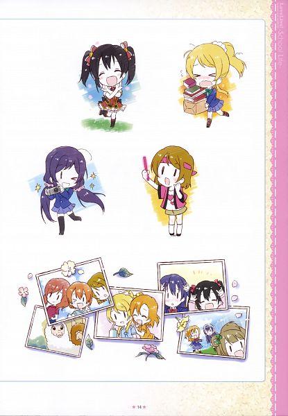 Tags: Anime, Kiyose Akame, Love Live!, Love Live! School Idol ALBUM -School Life-, Ayase Eri, Nishikino Maki, Hoshizora Rin, Koizumi Hanayo, Toujou Nozomi, Yazawa Niko, Sonoda Umi, Kousaka Honoka, Minami Kotori