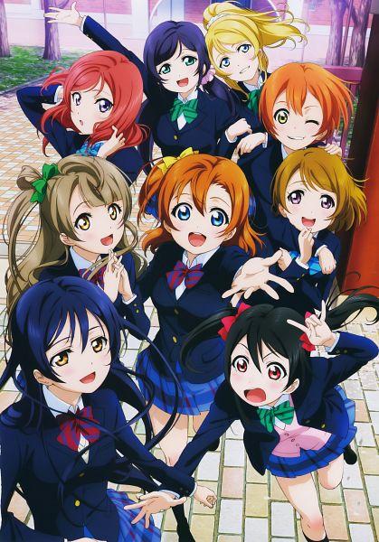 Tags: Anime, Sunrise (Studio), Love Live!, Sonoda Umi, Kousaka Honoka, Minami Kotori, Ayase Eri, Nishikino Maki, Hoshizora Rin, Koizumi Hanayo, Toujou Nozomi, Yazawa Niko, Scan