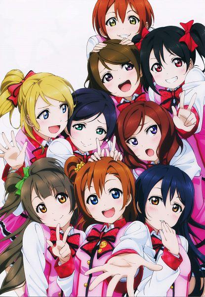 Tags: Anime, Sunrise (Studio), Love Live!, Minami Kotori, Ayase Eri, Nishikino Maki, Hoshizora Rin, Koizumi Hanayo, Toujou Nozomi, Yazawa Niko, Sonoda Umi, Kousaka Honoka, Official Art