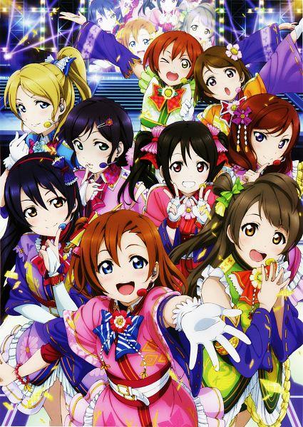 Tags: Anime, Sunrise (Studio), Love Live!, Yazawa Niko, Sonoda Umi, Kousaka Honoka, Minami Kotori, Ayase Eri, Nishikino Maki, Hoshizora Rin, Koizumi Hanayo, Toujou Nozomi, Scan