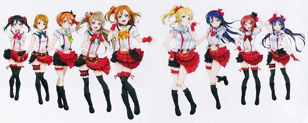 Tags: Anime, Sunrise (Studio), Love Live!, Koizumi Hanayo, Toujou Nozomi, Yazawa Niko, Sonoda Umi, Kousaka Honoka, Minami Kotori, Ayase Eri, Nishikino Maki, Hoshizora Rin, Official Art