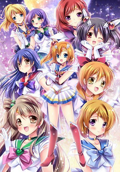 Tags: Anime, Sakurano Ru, Love Live!, Ayase Eri, Nishikino Maki, Hoshizora Rin, Koizumi Hanayo, Toujou Nozomi, Yazawa Niko, Sonoda Umi, Kousaka Honoka, Minami Kotori, Sailor Mars (Cosplay)