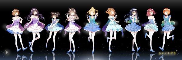 Tags: Anime, Kinoko Hime, Love Live!, Nishikino Maki, Hoshizora Rin, Koizumi Hanayo, Toujou Nozomi, Yazawa Niko, Sonoda Umi, Kousaka Honoka, Minami Kotori, Ayase Eri, Pixiv