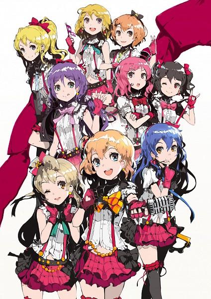 Tags: Anime, Alchemaniac, Love Live!, Sonoda Umi, Kousaka Honoka, Minami Kotori, Ayase Eri, Nishikino Maki, Hoshizora Rin, Koizumi Hanayo, Toujou Nozomi, Yazawa Niko, Bokura wa Ima no Naka de