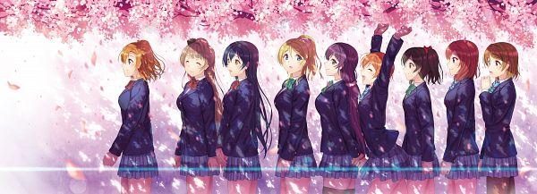 Tags: Anime, Kichiroku, Love Live!, Toujou Nozomi, Yazawa Niko, Sonoda Umi, Kousaka Honoka, Minami Kotori, Ayase Eri, Nishikino Maki, Hoshizora Rin, Koizumi Hanayo, μ's