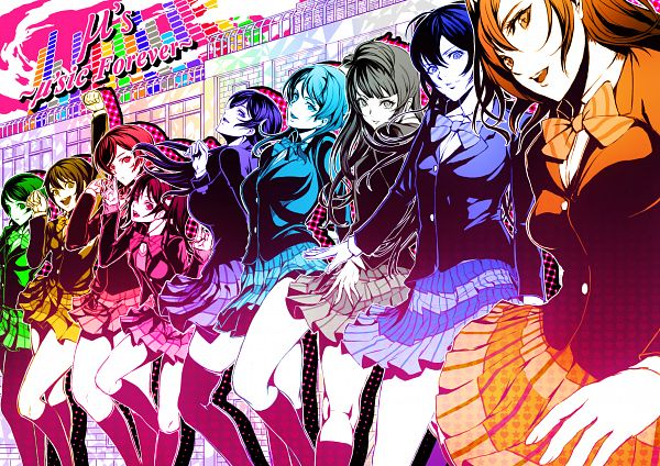 Tags: Anime, Ko-ran, Love Live!, Yazawa Niko, Sonoda Umi, Kousaka Honoka, Minami Kotori, Ayase Eri, Nishikino Maki, Hoshizora Rin, Koizumi Hanayo, Toujou Nozomi, Fanart