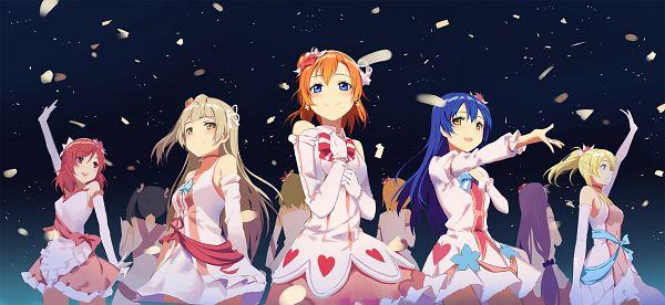 Tags: Anime, Huanxiang Heitu, Love Live!, Ayase Eri, Nishikino Maki, Hoshizora Rin, Koizumi Hanayo, Toujou Nozomi, Yazawa Niko, Sonoda Umi, Kousaka Honoka, Minami Kotori, Facebook Cover