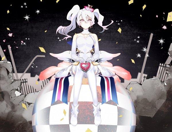 Tags: Anime, Hatsuko, Caligula, μ (Caligula), Distorted♰Happiness, Pixiv, Fanart, Fanart From Pixiv