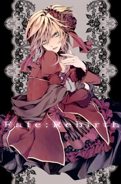 Tags: Anime, MACCO, VOCALOID, Kagamine Len, 「Fate:Rebirth」, Fanart, Mobile Wallpaper, Natsu-p, Pixiv, SCL Project, Fanart From Pixiv