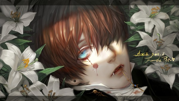 Tags: Anime, .Axis., Original, Facebook Cover, PNG Conversion, Pixiv