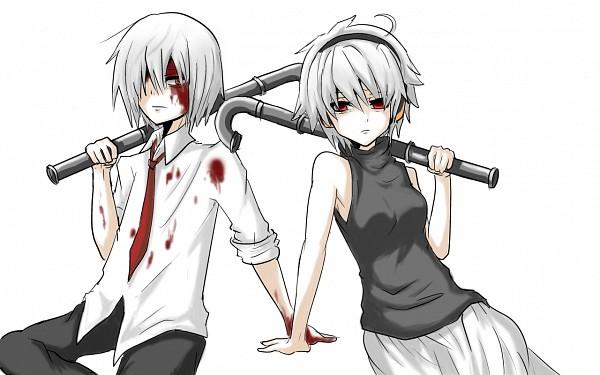Tags: Anime, .flow, Sabitsuki, Pipe (Plumbing), Artist Request, Wallpaper