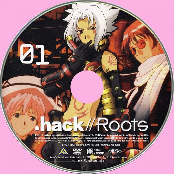 Tags: Anime, .hack//Roots, .hack//G.U., Shino Nanao, Ovan, Haseo, Twin Blade (.hack), Official Art, Scan, CD (Source)