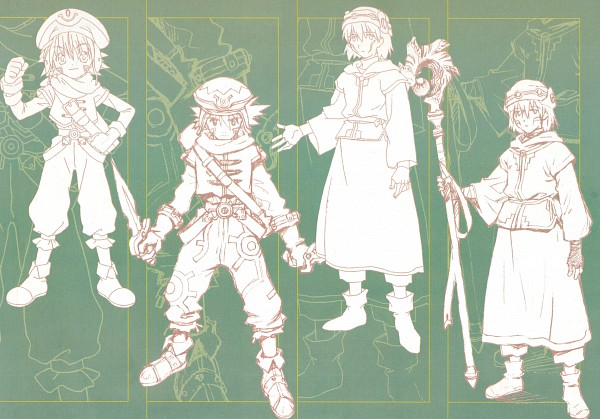 Tags: Anime, Bandai Visual, .hack//Sign, .hack//Legend of the Twilight, .hack//G.U., .hack//Infection, Tsukasa (.hack//sign), Kunisaki Shugo, Kite (.Hack), Official Art