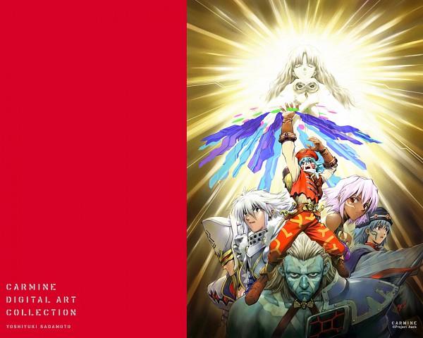 Tags: Anime, Yoshiyuki Sadamoto, Carmine (Artbook), .hack//Infection, Kite (.Hack), Aura (hack), Black Rose (.hack), Balmung, Helba, Elk (.hack), Orca (.hack//Infection), Data Drain, Twin Blade (.hack)