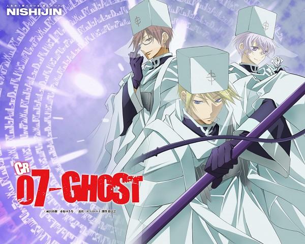 Tags: Anime, 07-ghost, Frau (07-ghost), Castor (07-ghost), Labrador, Official Art, Wallpaper