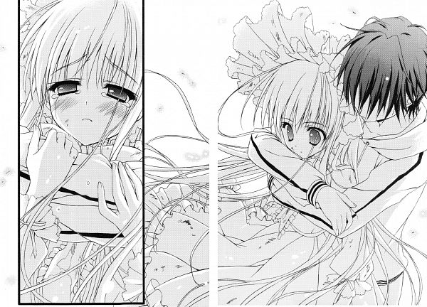 Tags: Anime, Ryohka, 101 Banme no Hyaku Monogatari, Ichimonji Hayate, Character Request, Scan, Novel Illustration, Official Art