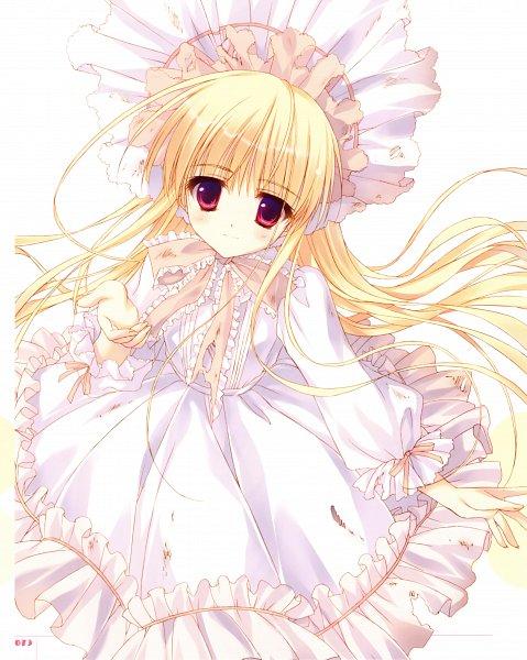 Tags: Anime, Ryohka, 101 Banme no Hyaku Monogatari, Kurimi, Official Art, Character Request, Scan
