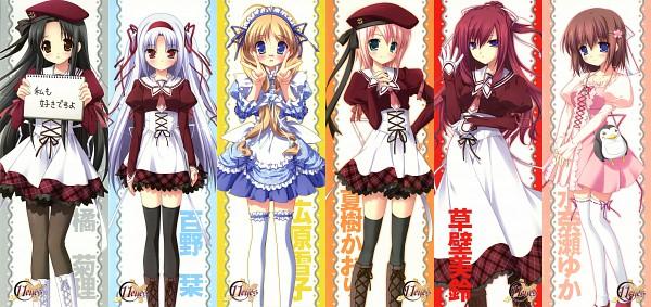 Tags: Anime, Hagiwara Onsen, Chikotam, Ozawa Yuu, Narumi Yuu, Lass, 11eyes, Hirohara Yukiko, Natsuki Kaori, Momono Shiori, Tachibana Kukuri, Kusakabe Misuzu, Minase Yuka