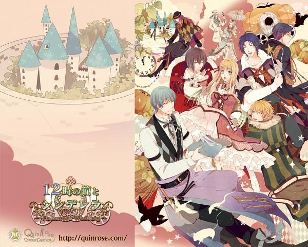 12 Ji no Kane no Cinderella ~Halloween Wedding~ (The 12 O'clock Bell And Cinderella ~halloween Wedding~) - QuinRose