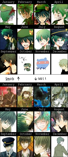 2011 Artist Evolution