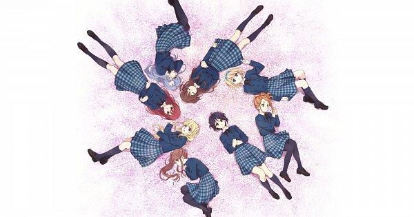 Tags: Anime, Horiguchi Yukiko, 22/7, Maruyama Akane, Tachikawa Ayaka, Fujima Sakura, Takigawa Miu, Toda Jun, Saitou Nicole, Satou Reika, Kouno Miyako, Official Art, 22/7 (Idol)