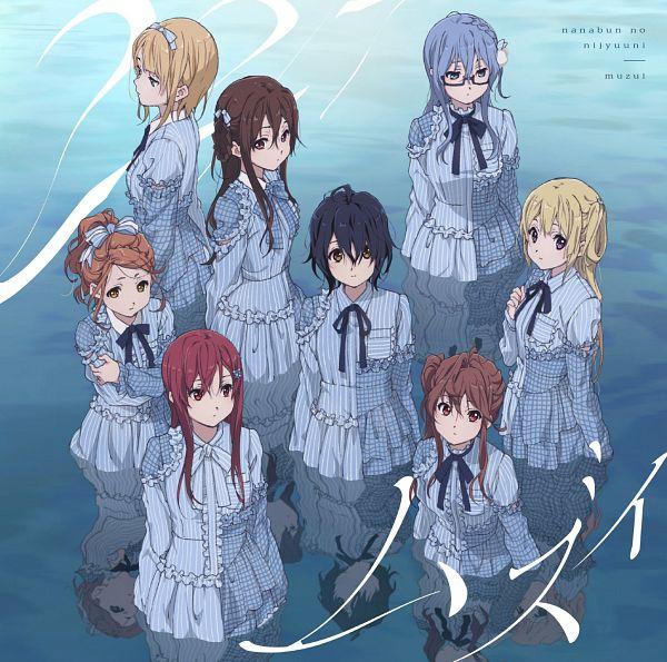 Tags: Anime, A-1 Pictures, 22/7, Maruyama Akane, Tachikawa Ayaka, Fujima Sakura, Takigawa Miu, Toda Jun, Saitou Nicole, Satou Reika, Kouno Miyako, Official Art, CD (Source)