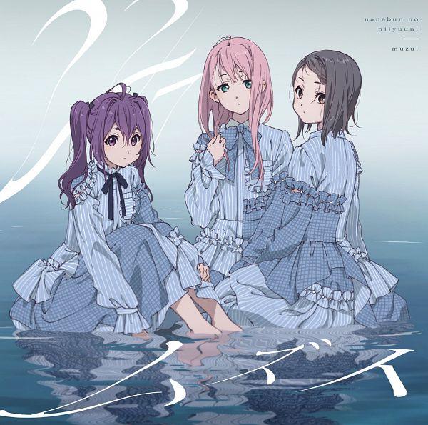 Tags: Anime, A-1 Pictures, 22/7, Toujou Yuuki, Kamiki Mikami, Hiiragi Tsubomi, Official Art, CD (Source)