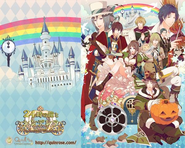 Tags: Anime, QuinRose, 12 Ji no Kane no Cinderella ~Halloween Wedding~, 24 Ji no Kane no Cinderella ~Halloween Wedding~, Wallpaper, The 24 O'clock Bell And Cinderella ~halloween Wedding~