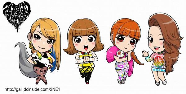 Tags: Anime, Sandara Park (2NE1), Minzy (2NE1), Cl (2NE1), Park Bom (2NE1), Sandara Park, K-pop, Wallpaper, 2NE1
