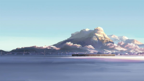 Tags: Anime, Makoto Shinkai, 5 Centimeters Per Second, 1600x900 Wallpaper, Wallpaper, Facebook Cover