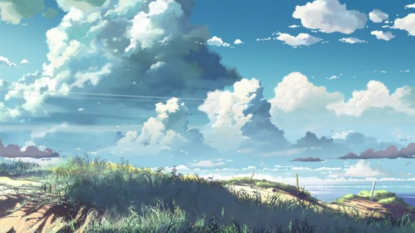 Tags: Anime, Makoto Shinkai, 5 Centimeters Per Second, Facebook Cover, Wallpaper