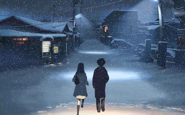 Tags: Anime, Makoto Shinkai, 5 Centimeters Per Second, Shinohara Akari, Toono Takaki, Wallpaper