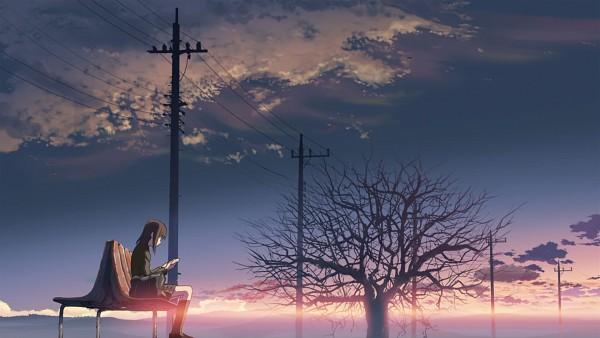 Tags: Anime, Makoto Shinkai, 5 Centimeters Per Second, Shinohara Akari, HD Wallpaper, Wallpaper, Facebook Cover