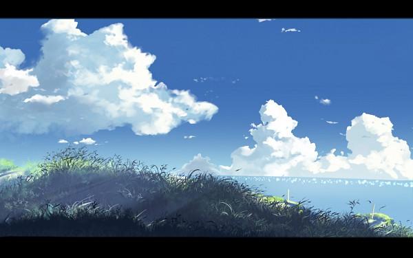 Tags: Anime, Hoshineko (Kiraneko), Makoto Shinkai, 5 Centimeters Per Second, No Character, Fanart, Wallpaper