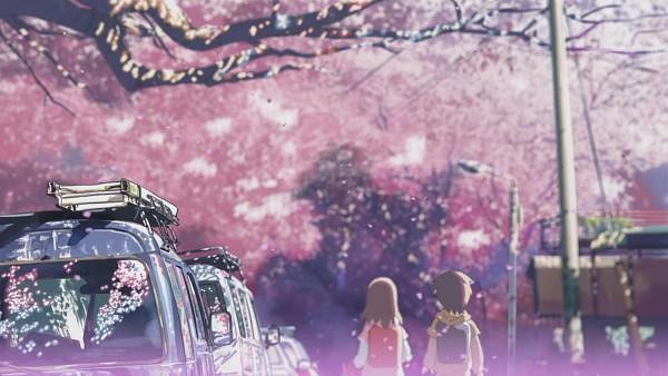 Tags: Anime, Makoto Shinkai, 5 Centimeters Per Second, HD Wallpaper, Facebook Cover, Wallpaper