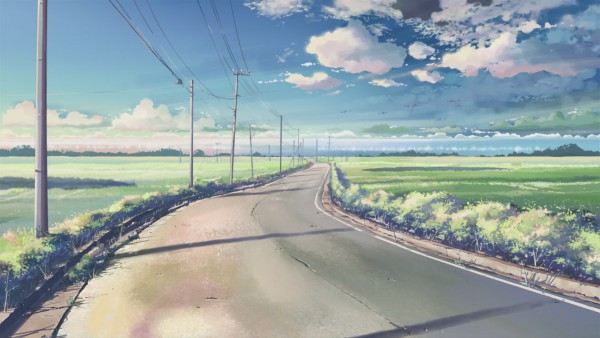 Tags: Anime, Makoto Shinkai, 5 Centimeters Per Second, Wallpaper, HD Wallpaper, Facebook Cover