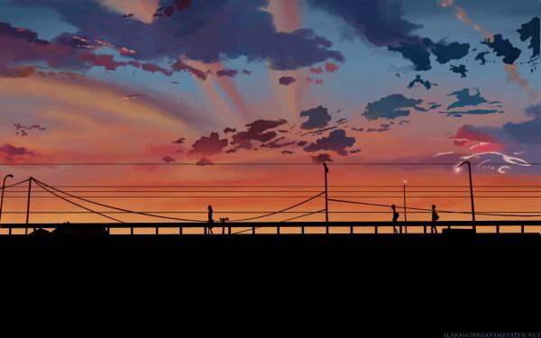 Tags: Anime, Makoto Shinkai, 5 Centimeters Per Second, 1680x1050 Wallpaper, Wallpaper