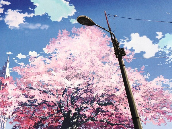 Tags: Anime, 5 Centimeters Per Second, Tower, No Character