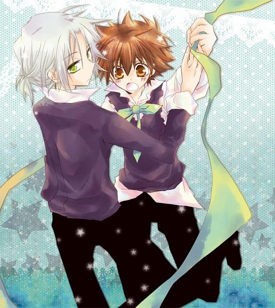 Tags: Anime, Katekyo Hitman REBORN!, Gokudera Hayato, Sawada Tsunayoshi, 5927 (Pairing)