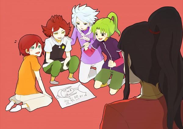 Tags: Anime, Inazuma Eleven, Nagumo Haruya, Saginuma Osamu, Midorikawa Ryuuji, Kiyama Hiroto, Suzuno Fuusuke, 3top, 5top