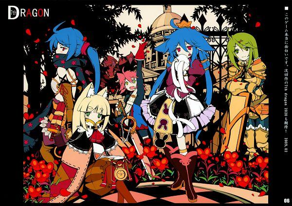Tags: Anime, Ideolo, NEKO WORKi, IRO GAME, 7th Dragon, Mage (7th Dragon), Knight (7th Dragon), Princess (7th Dragon), Rogue (7th Dragon), Fighter (7th Dragon), Pixiv, Comic Market 81, Scan