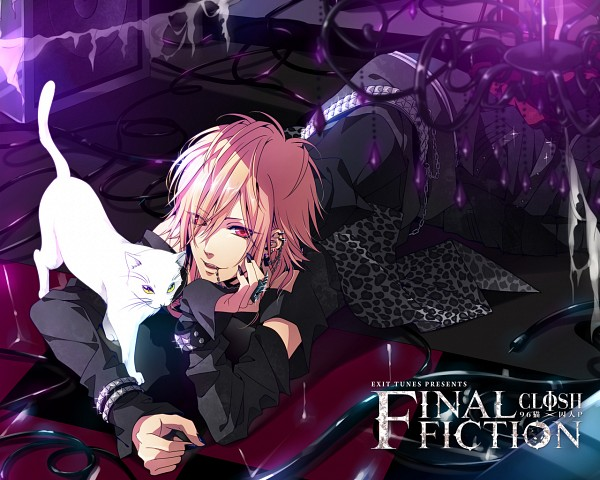Tags: Anime, 96neko, Helix Piercing, White Cat, Punk, Exit Tunes, CD (Source), Nico Nico Singer, Artist Request, Wallpaper