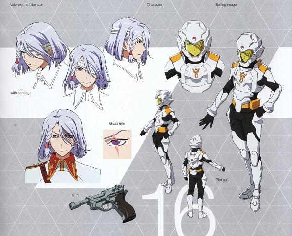 Tags: Anime, Kakumeiki Valvrave, A-Drei, Official Character Information, Official Art